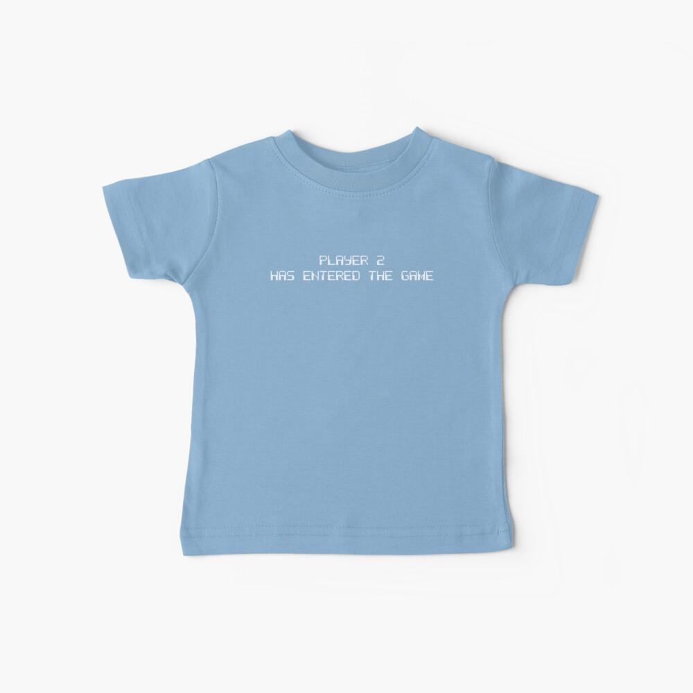 Spieler 2 hat Spiel betreten ... neuer kleiner Bruder oder Schwester Baby T-Shirt