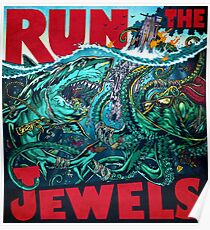 tour the run jewels minggu Poster
