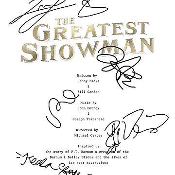 The Greatest Showman Script by CapnMarshmallow