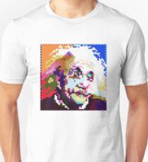 Albert Einstein in Pixel Art Style Unisex T-Shirt