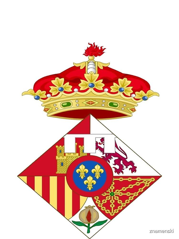 Infanta Sofía of Spain, Coat of arms, arms, crest, blazon, cognizance, childrensfun, purim, costume by znamenski