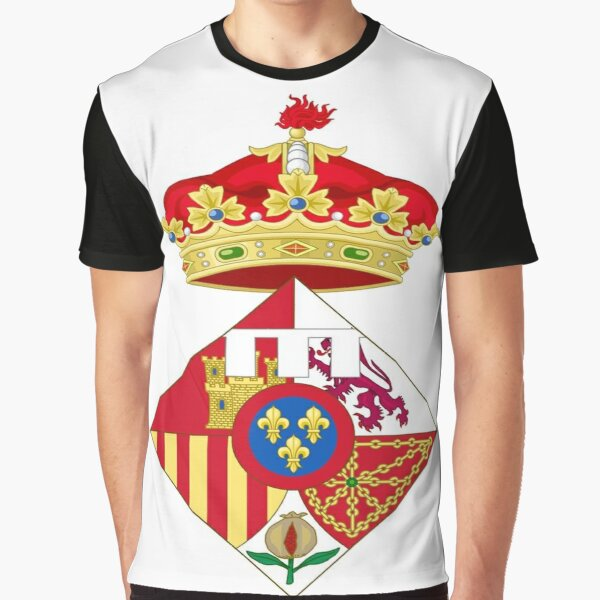Jewish,  Infanta Sofía of Spain, Coat of arms, arms, crest, blazon, cognizance, childrensfun, purim, costume Graphic T-Shirt