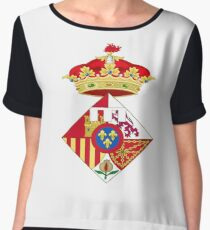 Infanta Sofía of Spain, Coat of arms, arms, crest, blazon, cognizance, childrensfun, purim, costume Chiffon Top