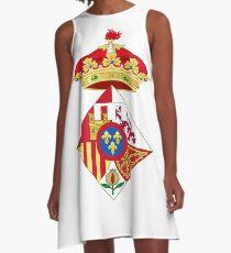 Infanta Sofía of Spain, Coat of arms, arms, crest, blazon, cognizance, childrensfun, purim, costume A-Line Dress
