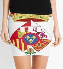 Infanta Sofía of Spain, Coat of arms, arms, crest, blazon, cognizance, childrensfun, purim, costume Mini Skirt
