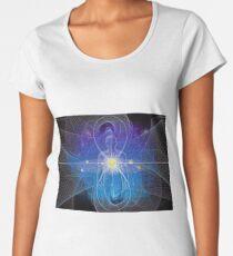 Physical Body and Spiritual Body, Costumeparty, purimparty, halloweencostume, beautifulgirl , kidsfashion, Esther, Ahasuerus, Mordecai Women's Premium T-Shirt