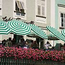 Peppermint Stripes   - Cafe in  Saltzburg by chijude
