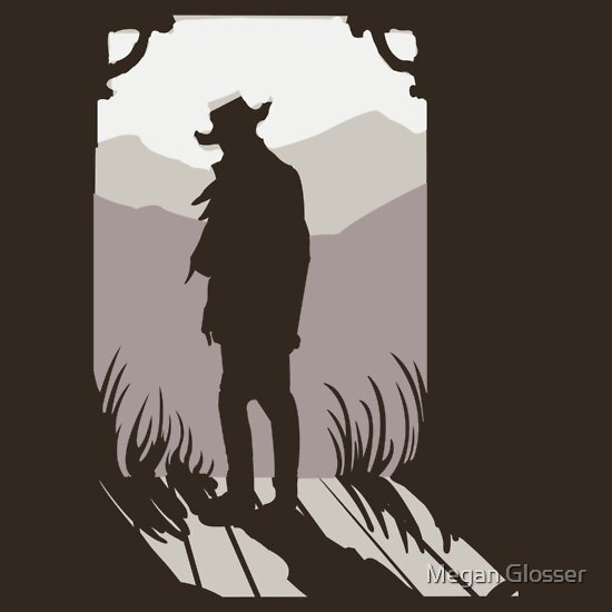 TShirtGifter presents: Old Western Silhouette