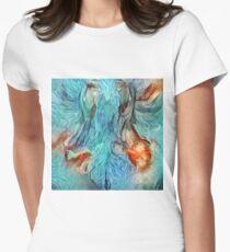 Painting, Costumeparty, purimparty, halloweencostume, beautifulgirl , kidsfashion, Esther, Ahasuerus, Mordecai Women's Fitted T-Shirt