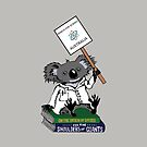 March for Science Australia – Koala, full color by sciencemarchau