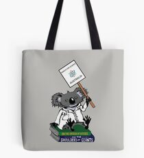 March for Science Australia – Koala, full color Tote Bag