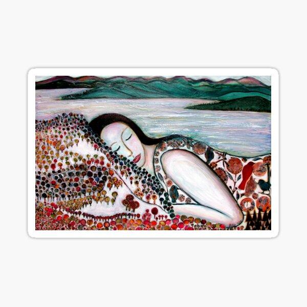 Mother Earth Goddess Sticker