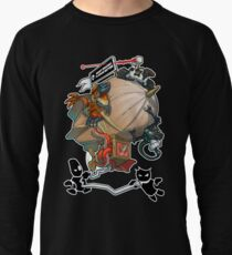 Smart Enough To Know Better Comedy Blimp Lightweight Sweatshirt