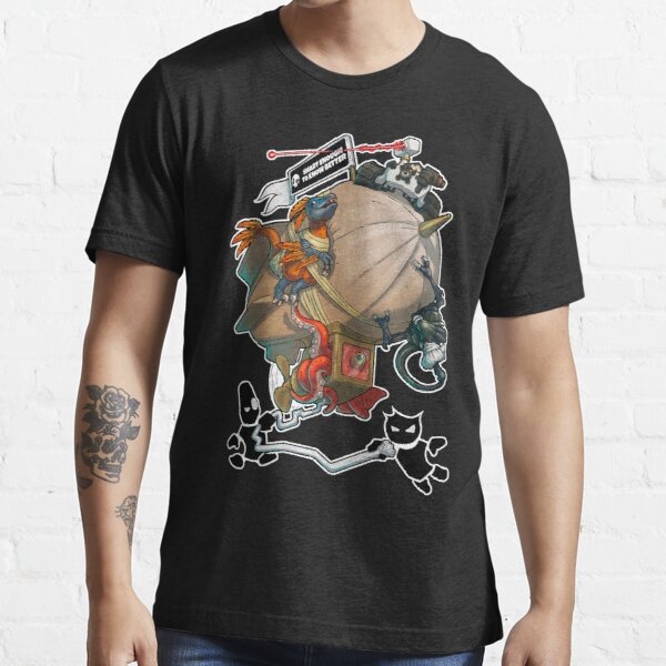 Smart Enough To Know Better Comedy Blimp Essential T-Shirt