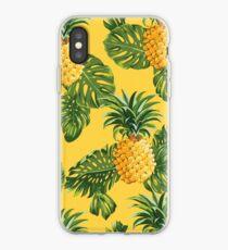 Vinilo o funda para iPhone Retro Pineapples Tropical Style