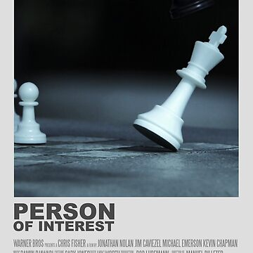 Person of Interest Minimalist Poster  by AngelaFV
