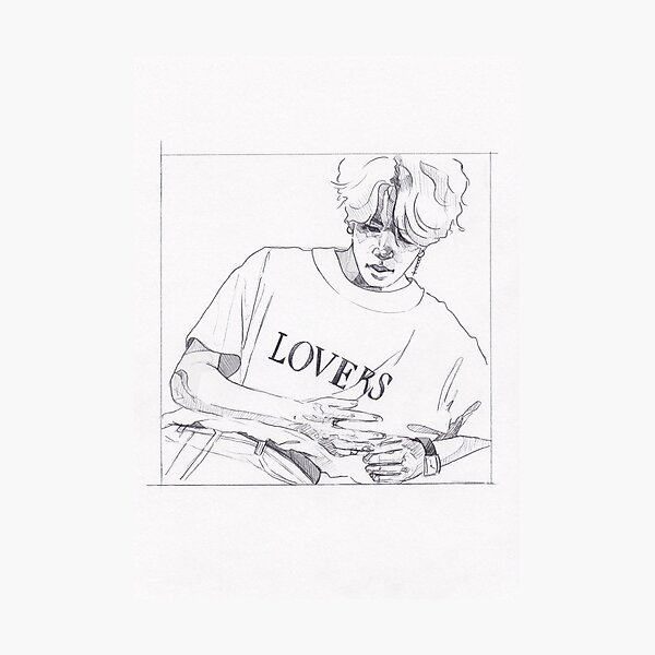BTS - JIMIN Lovers Photographic Print