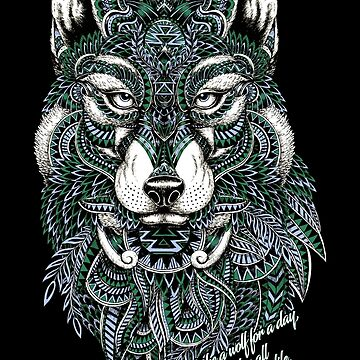 Be The Wolf Not The Sheep! by CryptoTextile