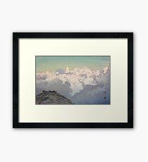 Yoshida Hiroshi - View from Komagatake Framed Print