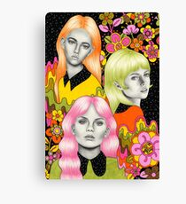 Psychedelic Babes Canvas Print