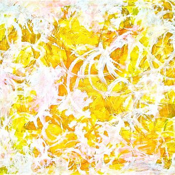 Golden Shine abstract by GittaG74