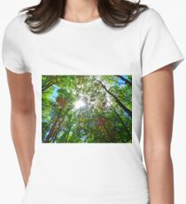Mystical Forest Sky Women's Fitted T-Shirt