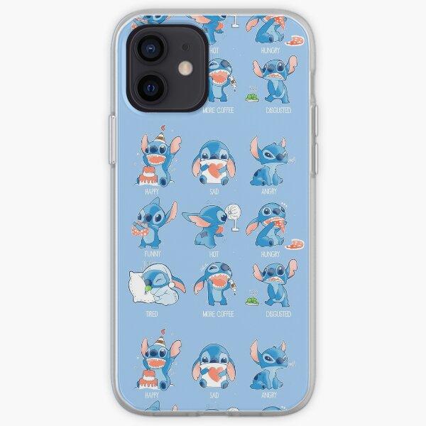 Émoticône Stitch! Coque souple iPhone