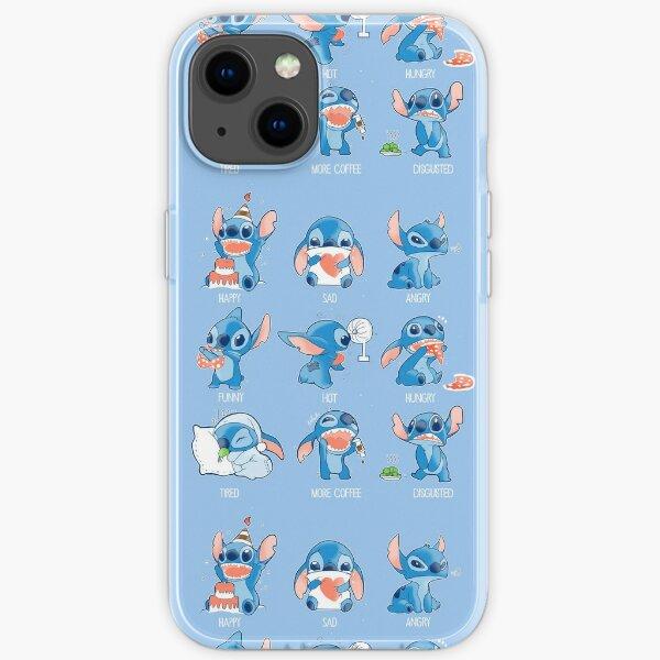 Stitch emoticon!  iPhone Soft Case