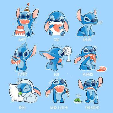 Stitch emoticon!  by Ewelsart
