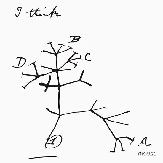 TShirtGifter presents: Darwin Tree of Life - I think