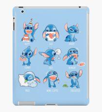 Stitch Emoticon! iPad-Hülle & Klebefolie