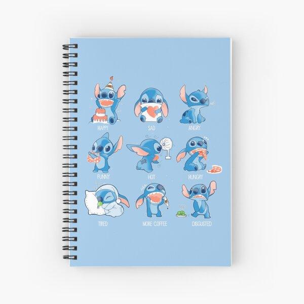 Stitch emoticon!  Spiral Notebook