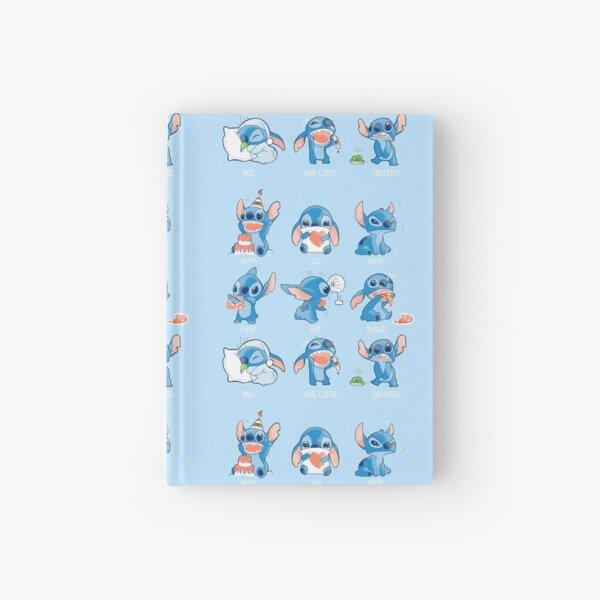 Stitch emoticon! Cuaderno de tapa dura
