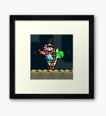 Retro gaming 16 bit  Framed Print