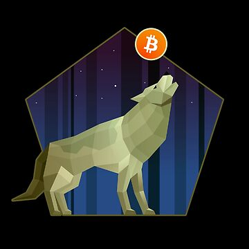 Bitcoin Howlin' by CryptoTextile