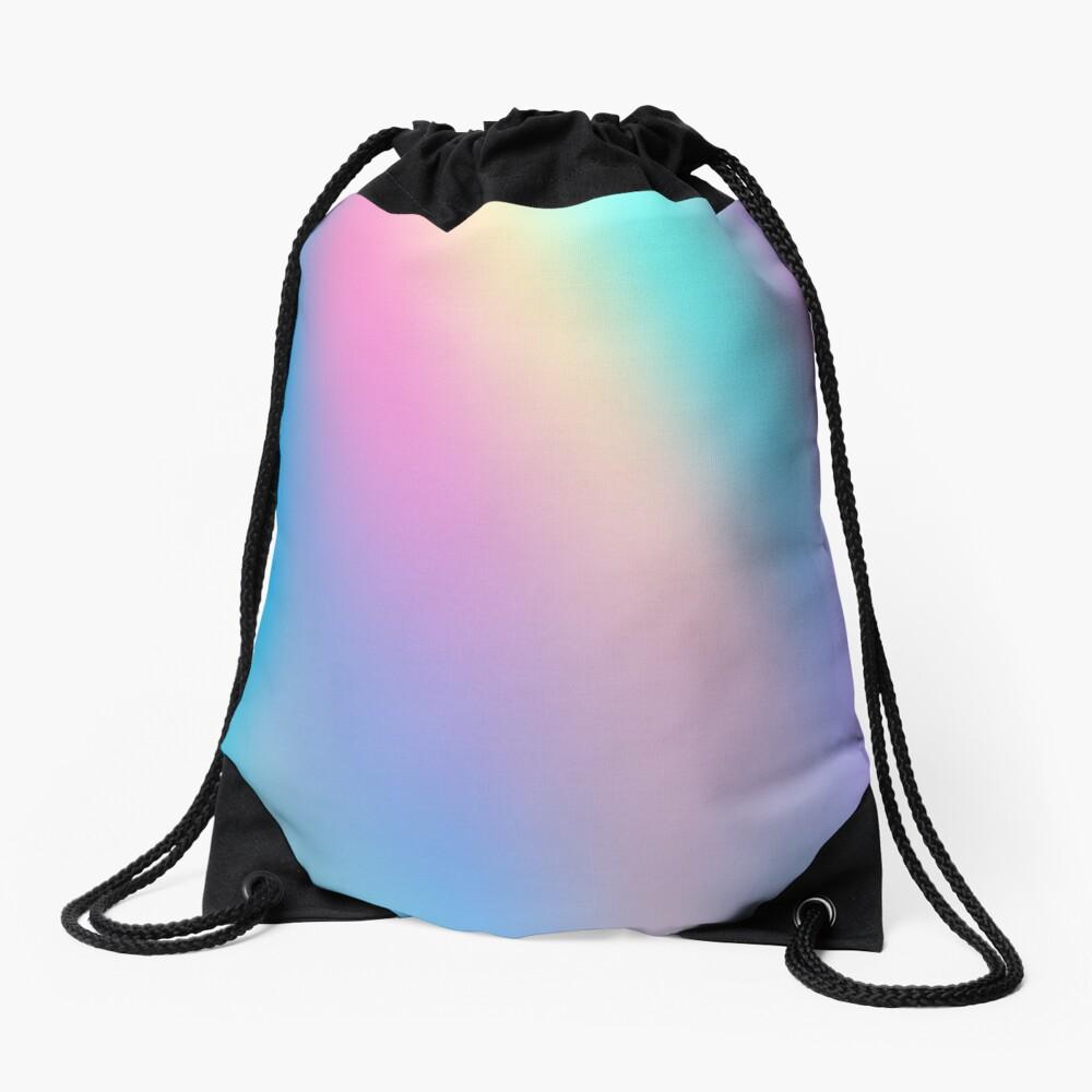Holographic Pattern Drawstring Bag