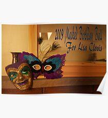 2009 Masked Birthday Ball  Poster