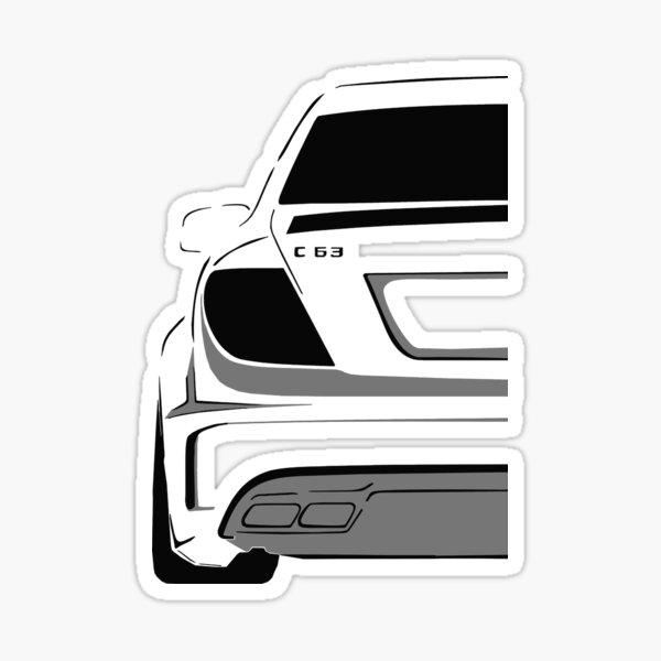 C63 AMG jedolah Sticker