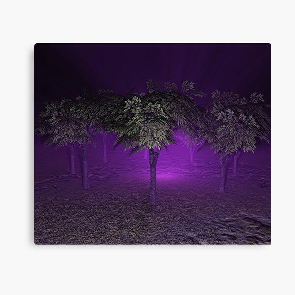 A Circle of Trees Canvas Print