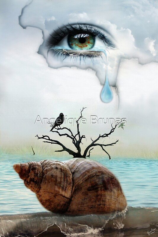 Quot Ocean Of Tears Quot By Angelique Brunas Redbubble