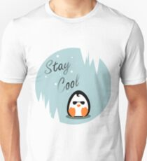 Stay Cool Penguin Unisex T-Shirt