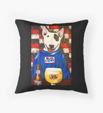 Spuds MacKenzie Throw Pillow