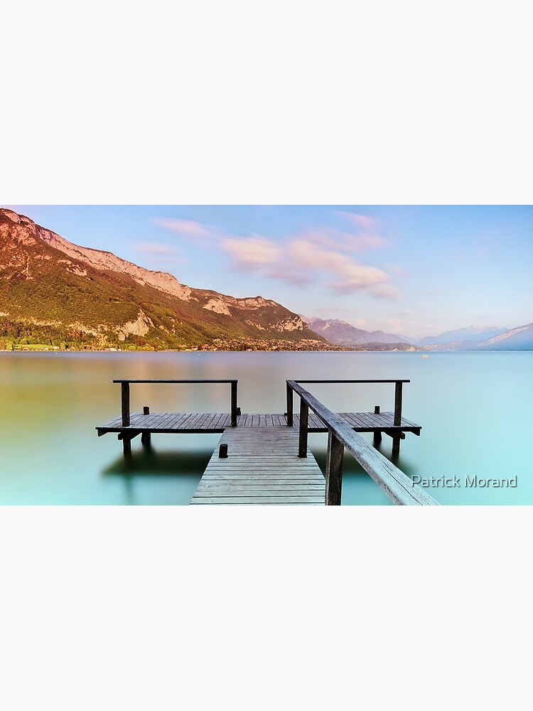 Dusk colors on Annecy lake by patmo