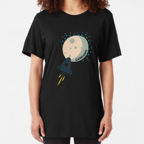 Cardano To The Moon Slim Fit T-Shirt