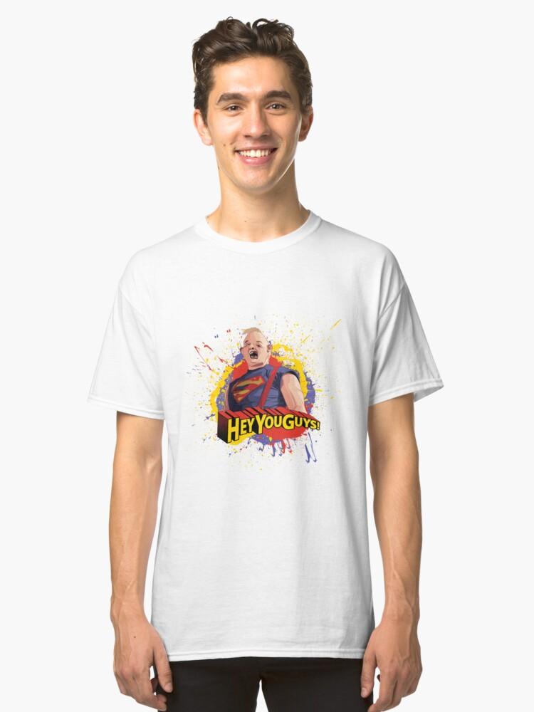 Goonies Boys Fashion Classic Long Sleeve T-Shirt Boy Long Sleeve Cotton Round Neck T-Shirt