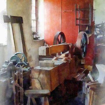 Blacksmith Shop Near Windows by SudaP0408