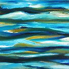 Turquoise Sea by Maria Meester
