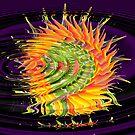 Flower of life.... by Lynette Higgs