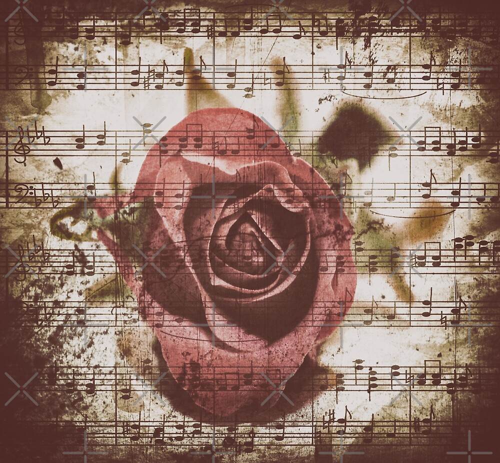 Music Of A Old Rose by Gypsykiss