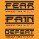 Cobra Kai - Fear Pain Defeat by eyevoodoo